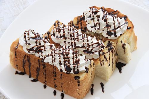 チョコレートトーストイメージ